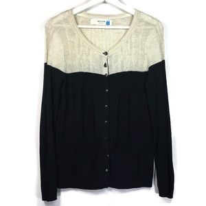 Anthropologie Sparrow Climbing Cables cardigan